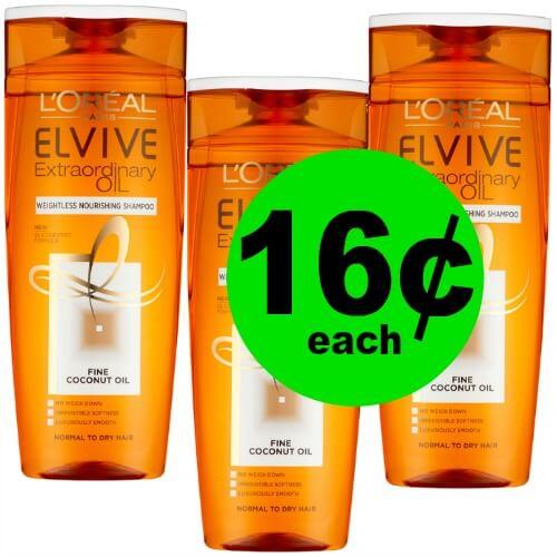L'Oreal Elvive Hair Care, 16¢ at CVS! (4/22 – 4/28)