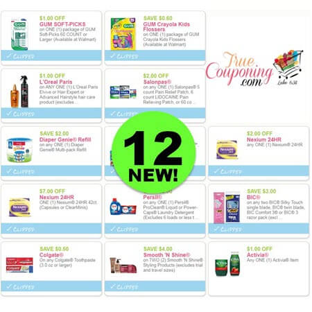 There Are Twelve (12) New Coupons Today! Save on Gum Oral Care, Diaper Genie & More!