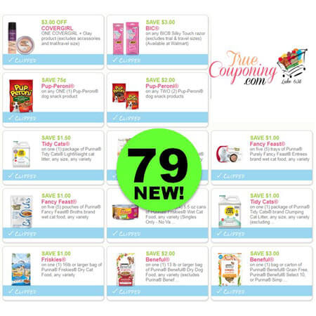 There Are Seventy-Nine (79) New Coupons! Save On Huggies, Bic & More!