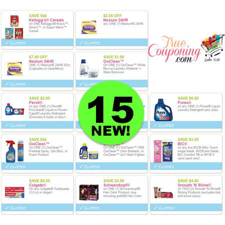 There Are Fifteen (15) New Coupons Today! Save on Purex, Persil & More!
