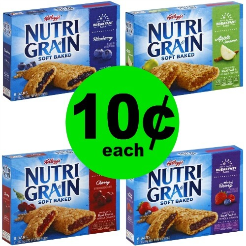 Cheap Breakfast with Nutri Grain Bars for Only $.10 per Box at Publix! 4/5 – 4/11 (or 4/4 – 4/10)