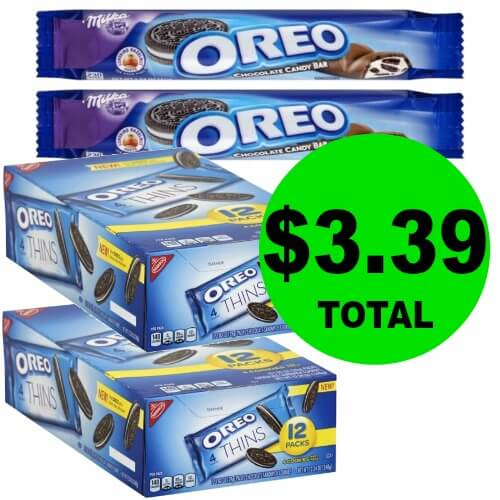 Oreo Cookie 12 Packs & (2) FREE Oreo Candy Bars 4/28 ONLY for $1.69 at Publix! ($2.25 After 4/28)