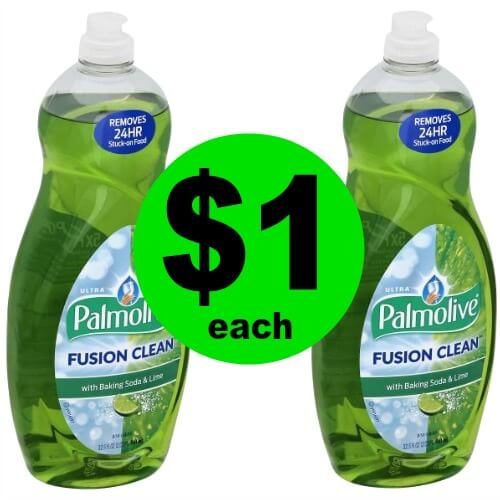 For 4/7 Only, $1 Palmolive at Publix!