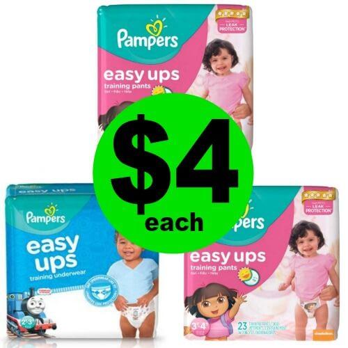 Pampers Easy Ups, $4 at CVS! (Ends 5/5)
