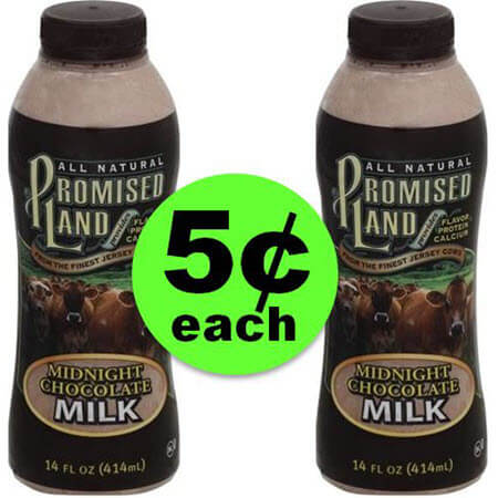 Woo Hoo! It's Even Cheaper – Promised Land Milk, $.05 Each at Publix!