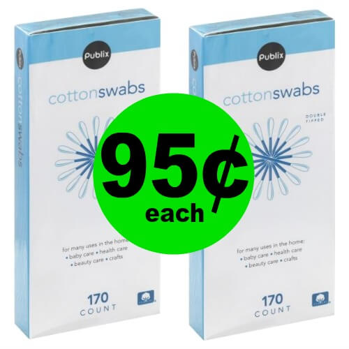 Publix Deal: 👶 95¢ Publix Cotton Swabs! (Ends 5/10)