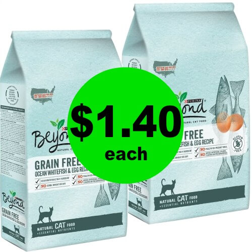 Purina Beyond Natural Cat Food $1.40 Each (Reg. $8+) at Publix! (Ends 4/24 or 4/25)