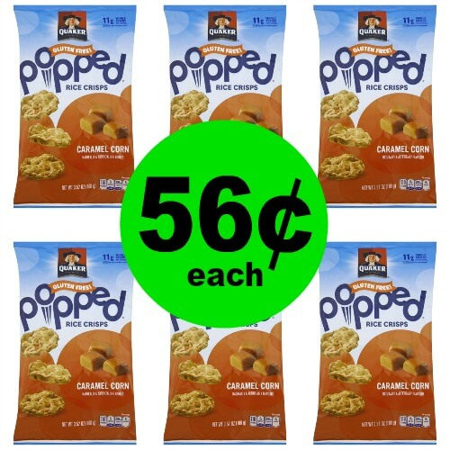 Quaker Rice Snacks, 56¢ at Publix! (Ends 4/24 or 4/25)