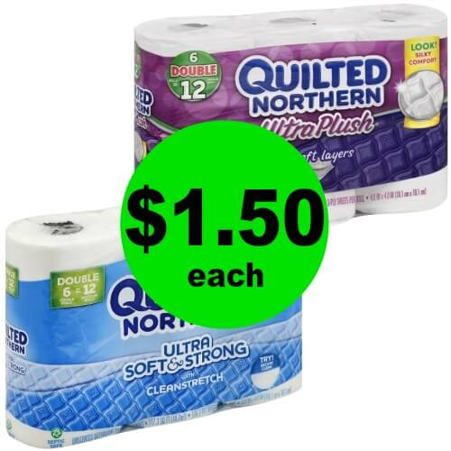 Quilted Northern Bathroom Tissue, Only $1.50 at Publix! 4/12 – 4/18 (or 4/11 – 4/17)