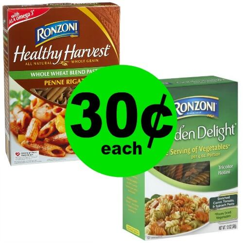 Ronzoni Pasta As Low As 30¢ Each at Publix! (4/14-4/17 or 4/18)