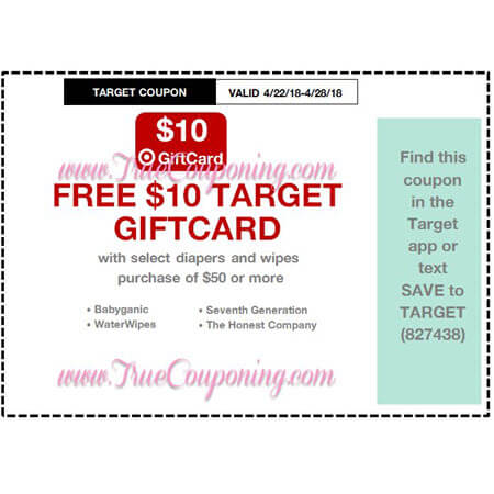 This Sunday (4/22/18) We're Getting Baby & Foot Care Target Coupons!