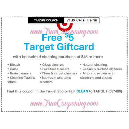 This Sunday (4/8/18) We're Getting Yogurt & Household Target Coupons!