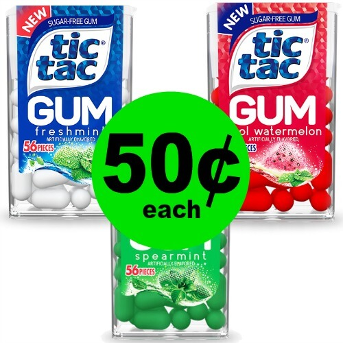 Publix Deal: ? 50¢ Tic Tac Mints or Gum! (Ends 10/26)