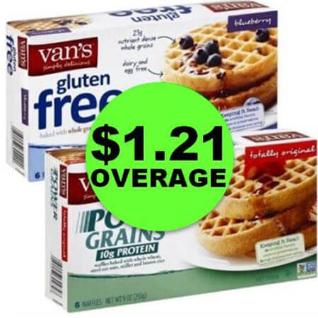 Even Cheaper – $1.21 Overage on Vans Waffles at Publix! (4/18-4/24 or 4/19-4/25)
