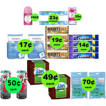 Six FREEbies & Eleven Deals 69¢ or Less at Walgreens! (Ends 4/21)