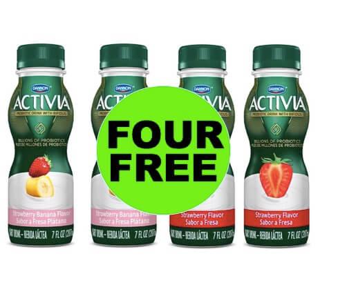 Yahoo! Four Freebie Activia Yogurt Drinks at Target! (Ends 4/7)