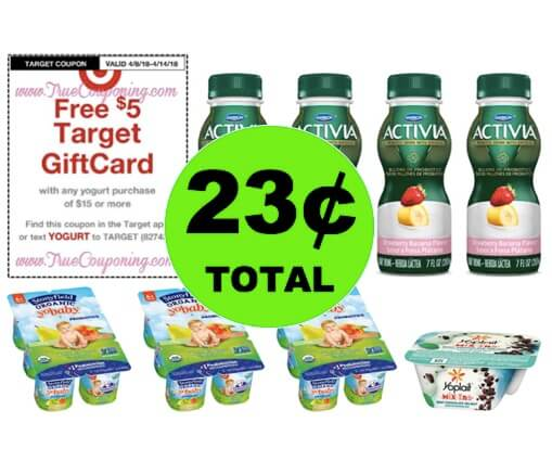 Make Sure You Get Your EIGHT (8!) Yogurt Products for ONLY 23¢ TOTAL at Target! (Ends 4/14)