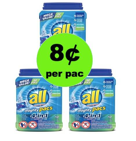 SCORE All Mighty Pacs as Low as 8¢ Per Pac at Target! (Ends 4/21)