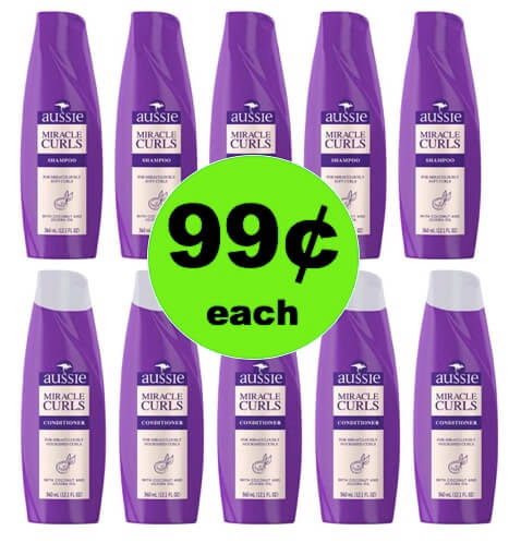 STOCK UP on 99¢ Aussie Hair Care at Target! (Ends 4/21)