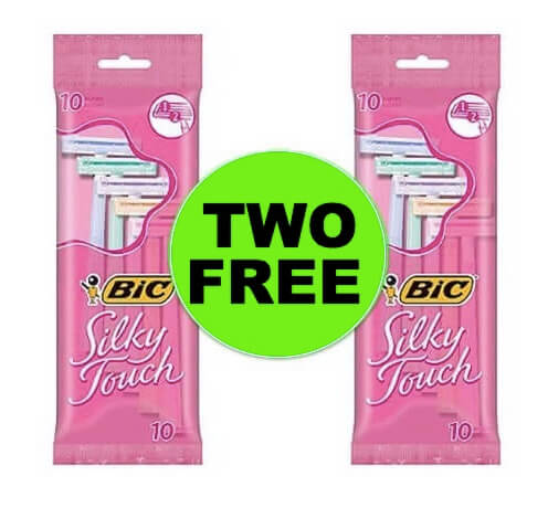 (NLA) TWO (2!) FREEbies BIC Silky Touch Razors at Walmart!