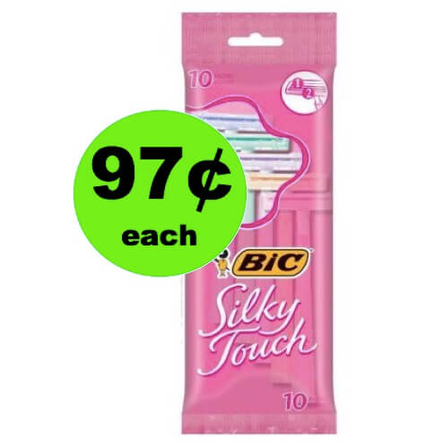 STOCK UP on 97¢ BIC Disposable Razors at Walgreens (Target, Walgreens & Publix Too)! (Ends 5/5)