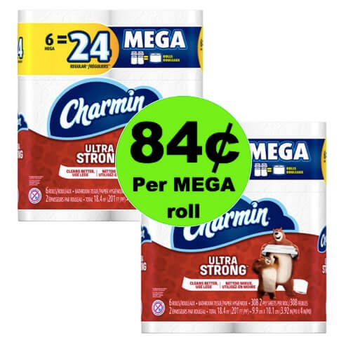 STOCK UP on Charmin Essentials TP Only 84¢ per MEGA Roll at Winn Dixie! (Ends 4/24)