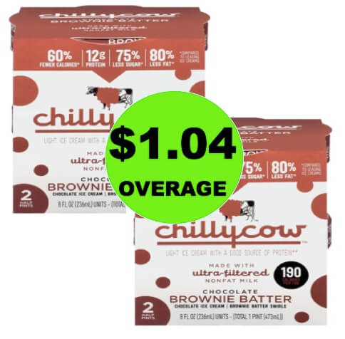 (NLA) TWO (2!) FREE + $1.04 Overage on Chilly Cow Ice Cream at Walmart! (Ends 5/31)