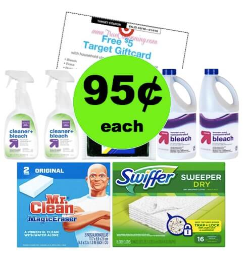 Don't Miss Out on SEVEN (7!) Cleaning Products Only 95¢ Each at Target! (Ends 4/14)