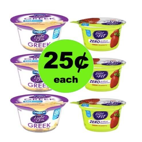 Grab a Spoon and Enjoy 25¢ Dannon Light & Fit Greek Yogurt at Walmart! (Ends 4/11)
