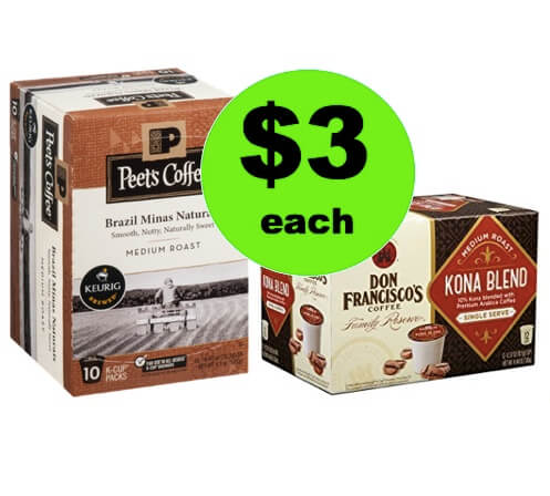 Wake Up with $3 Don Francisco's or Peet's Coffee K-Cups at Winn Dixie! (Ends 4/8)