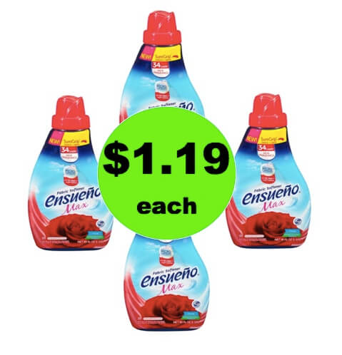 STOCK UP on $1.19 Ensueno Fabric Softener at Target! (Ends 5/26)