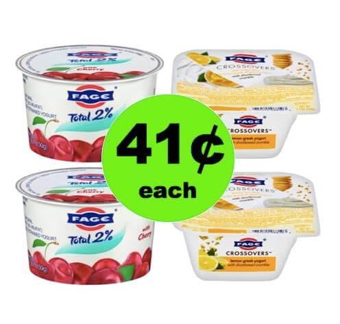 Enjoy 41¢ Fage Yogurt Cups at Walmart! (Ends 6/30)