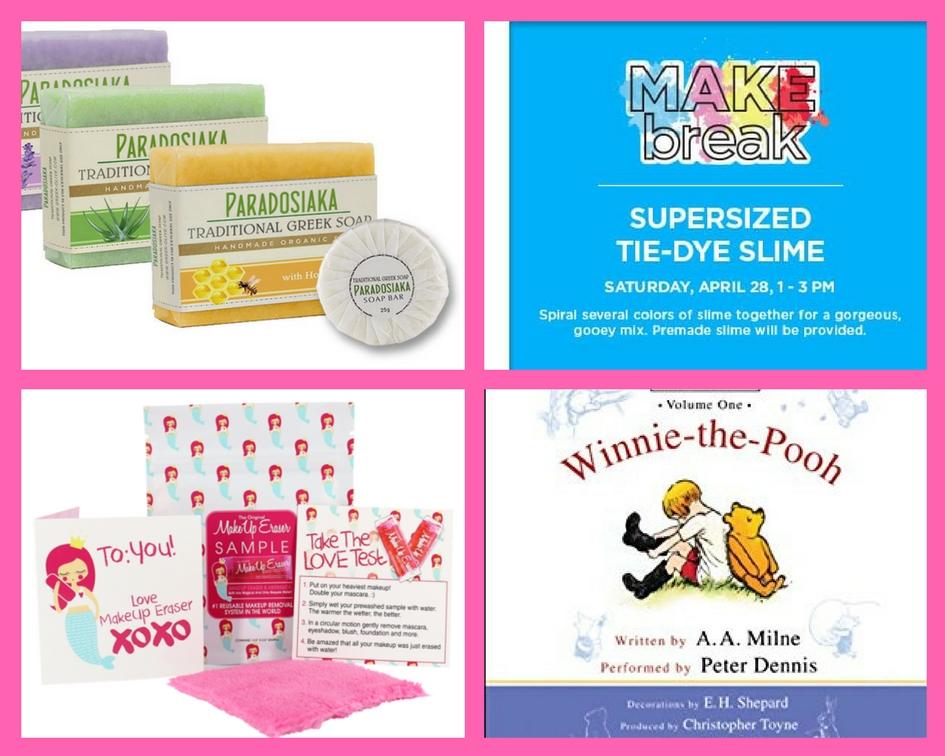 Make Sure You Snag These FOUR (4!) FREEbies: Greek Soap, Tie-Die Slime, Makeup Eraser and Winnie-the-Pooh Audiobook!