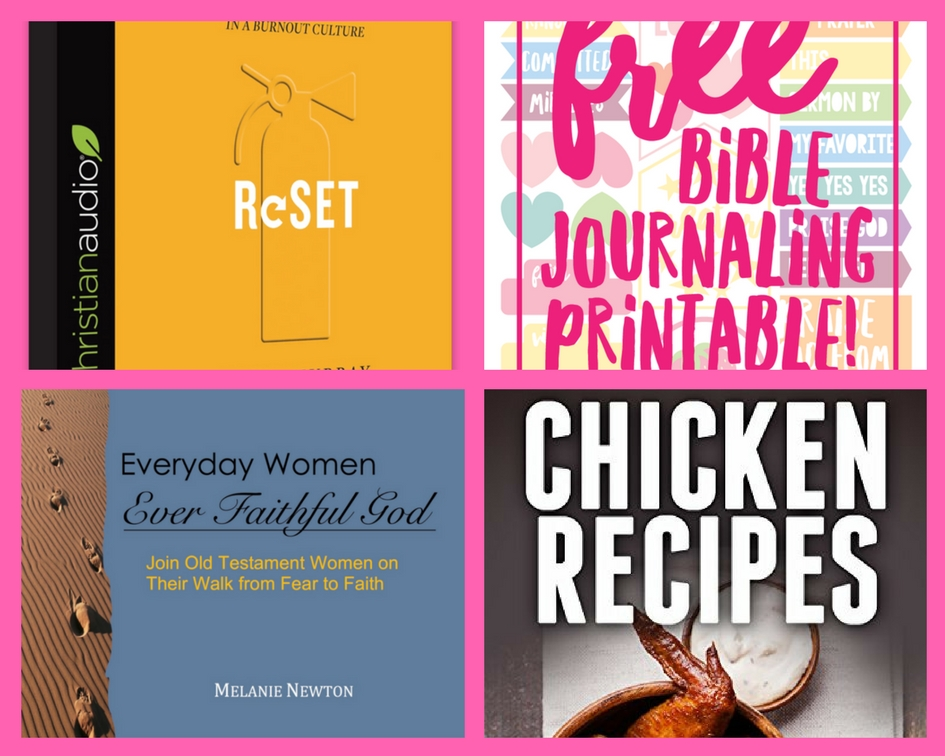 did you see these four  4   freebies  reset christian