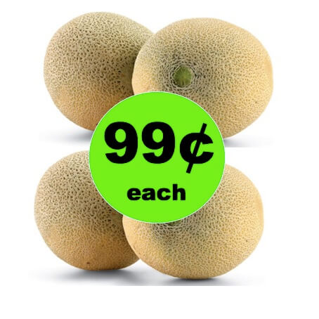 Pick Up 99¢ Cantaloupe at Winn Dixie! (4/4 – 4/10)