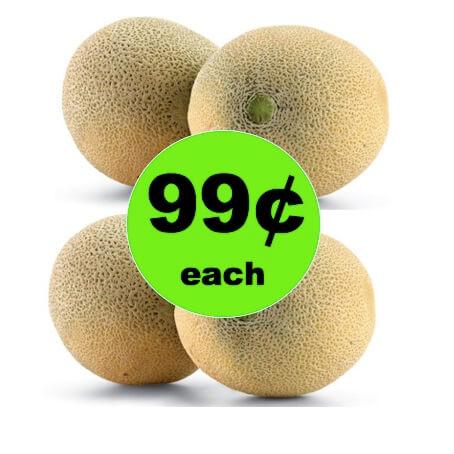 Pick Up 99¢ Cantaloupe at Winn Dixie! (4/4 – 4/10)