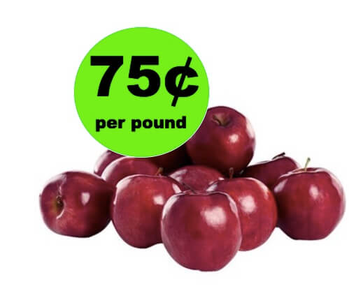 EASY Deal on Fresh Red Delicious Apples Only 75¢ per Pound at Winn Dixie! (Ends 4/10)