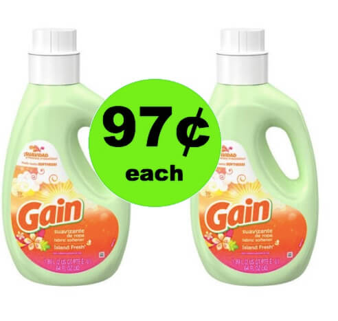 Pick Up Your 97¢ Gain Liquid Softener at Walmart! (Ends 4/28)