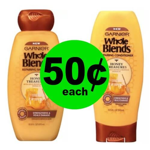 Garnier Whole Blends Hair Care, 50¢ at CVS! (4/29-5/5)