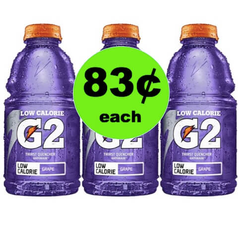 Get Refreshed with 83¢ Gatorade Drinks at Winn Dixie! (Ends 4/24)