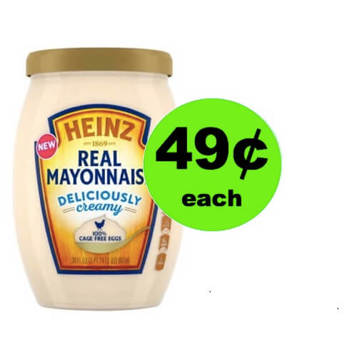 Save 90% on Heinz Real Mayo at Winn Dixie! (Ends 5/1)