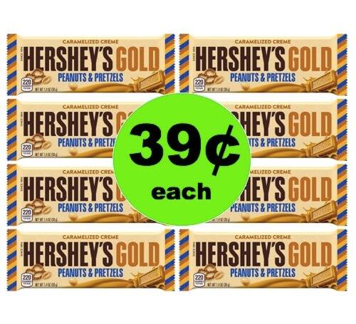 Score 39¢ Hershey