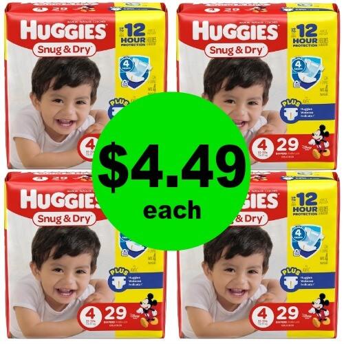 Print for $4.49 Huggies Diapers at CVS! (4/29-5/5)