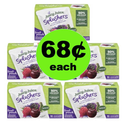STOCK UP on $1.68 Juicy Juice Splashers at Walmart! (Ends 6/18)