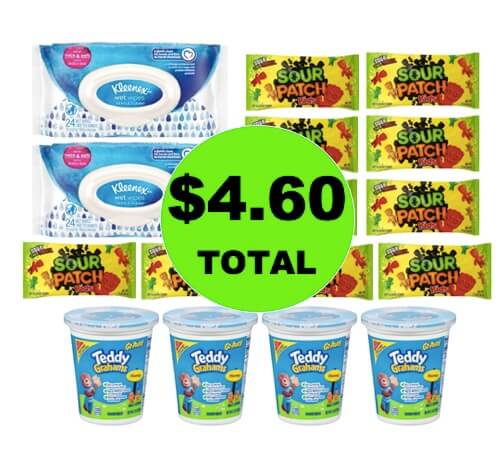 For $4.60 TOTAL, Get (16) Cookies, Candy & Wipes at Target After Rebate! (Ends 4/11)