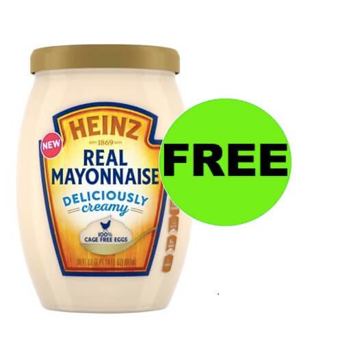 FREE Heinz Mayo at Walmart (After Rebate)! (Ends 4/18)