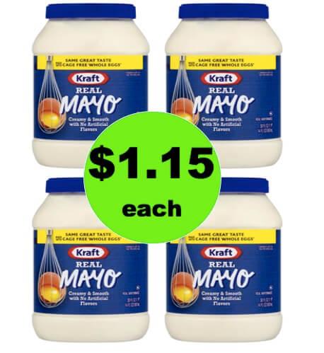 Score Kraft Mayo Only $1.15 Each at Winn Dixie! (Ends 4/10)
