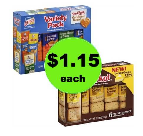Curb the Snack Attack with $1.15 Lance Cookies or Crackers at Winn Dixie! (Ends 4/10)