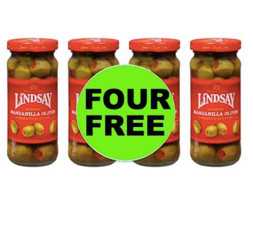 FOUR (4!) FREE Lindsay Spanish Olives at Walgreens (After Rebate)! (Ends 4/28)