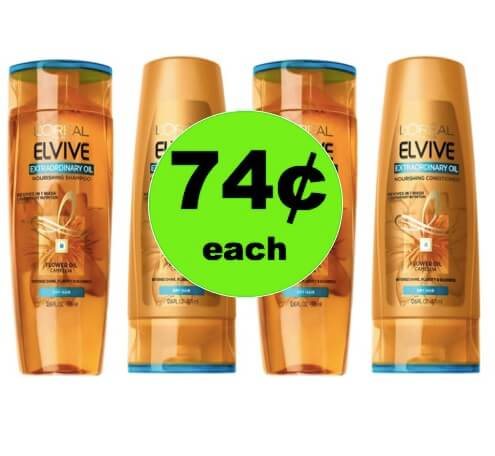 Pamper Your Hair with 74¢ L'Oreal Elvive Hair Care at Target! (Ends 4/21)